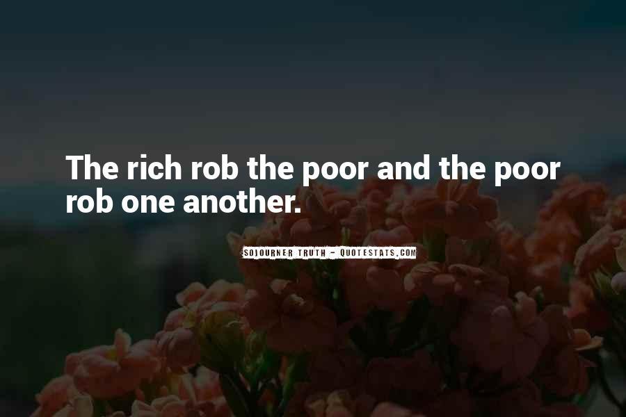 Quotes About The Poor And Rich #43694