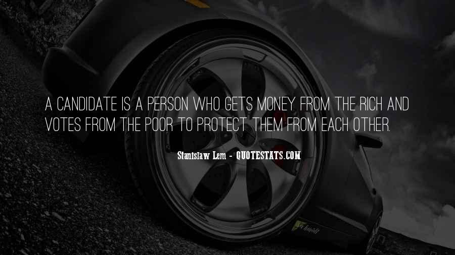 Quotes About The Poor And Rich #87974