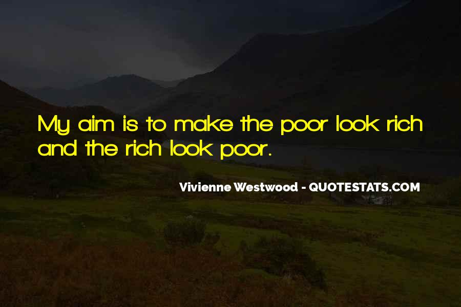 Quotes About The Poor And Rich #90953