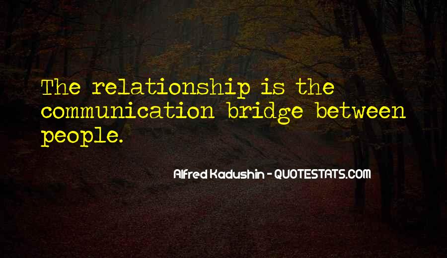 Communication For Relationship Quotes #947907