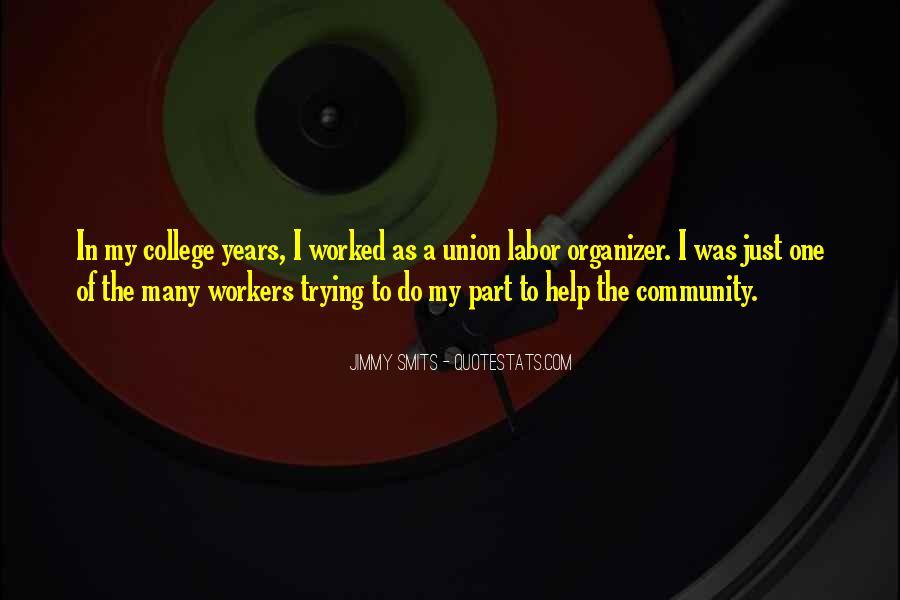 Community Organizer Quotes #1026032
