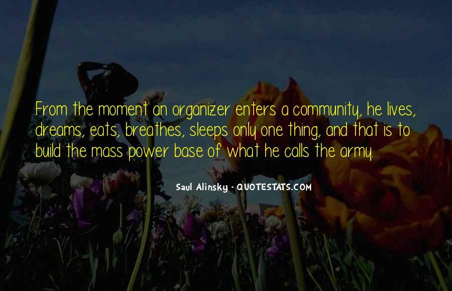 Community Organizer Quotes #1262082