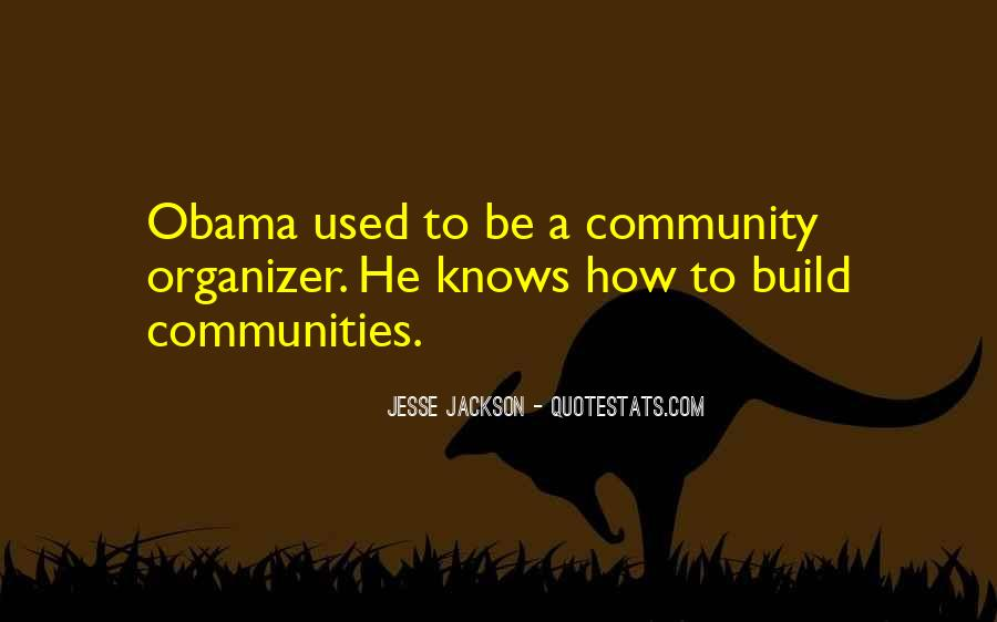 Community Organizer Quotes #1421004