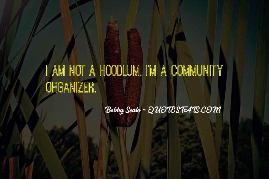 Community Organizer Quotes #1716206