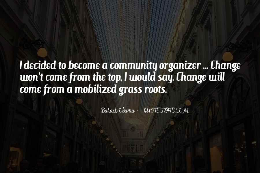 Community Organizer Quotes #1727063