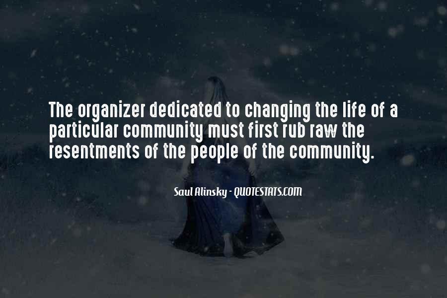 Community Organizer Quotes #850323