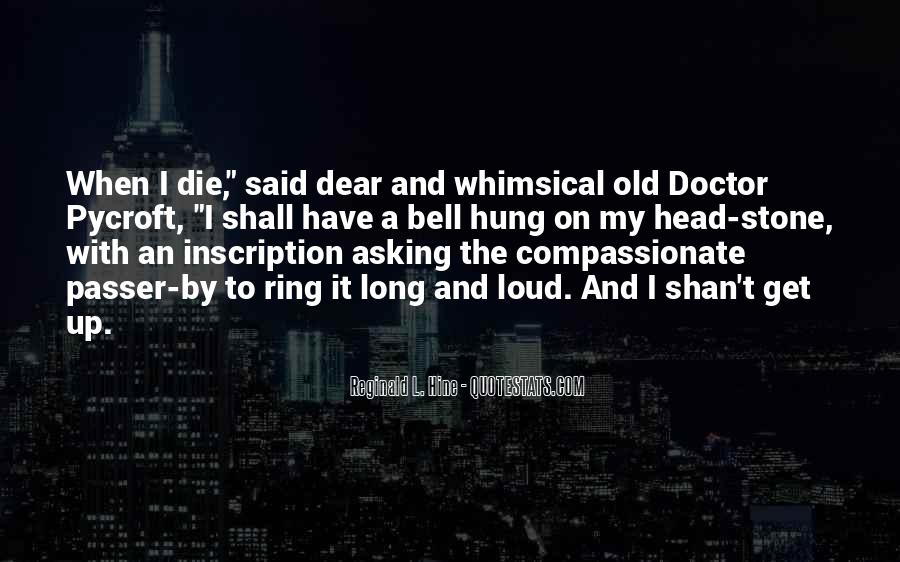 Compassionate Doctor Quotes #492759