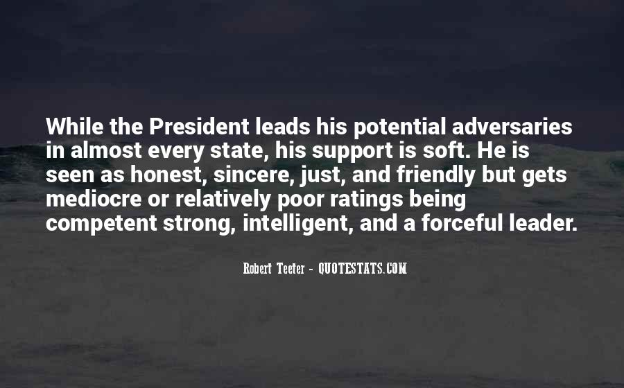 Competent Leader Quotes #1372713