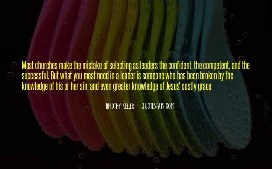 Competent Leader Quotes #1541398