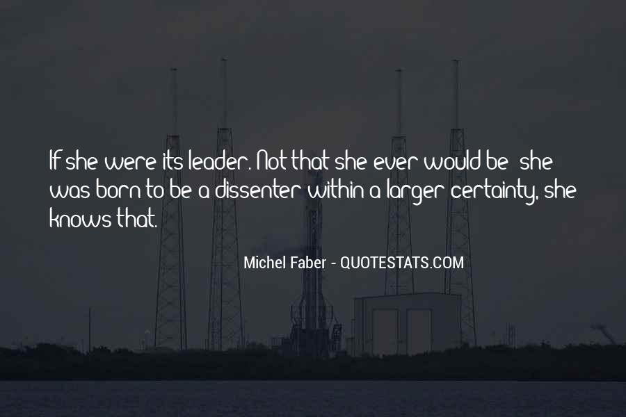Competent Leader Quotes #1649941