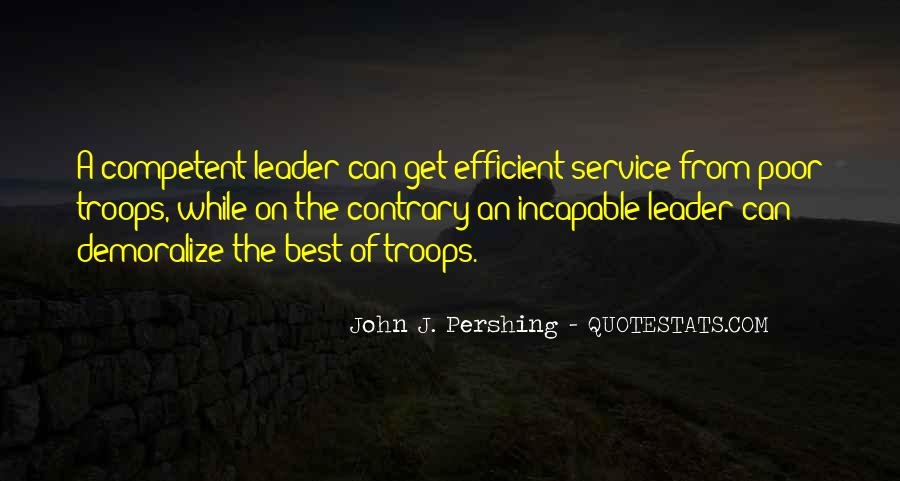 Competent Leader Quotes #1815494