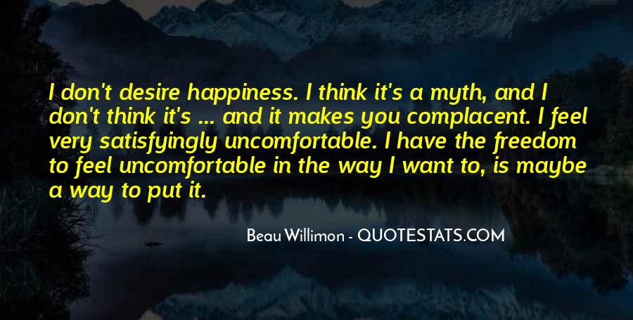 Complacent Quotes #1047209
