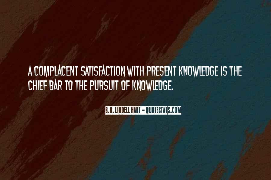 Complacent Quotes #193206