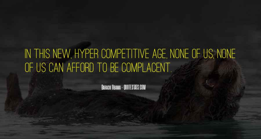 Complacent Quotes #255461