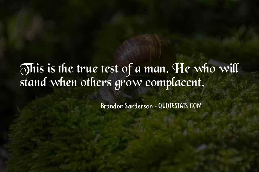 Complacent Quotes #586692
