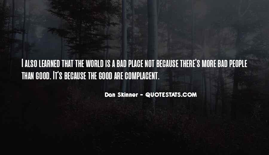 Complacent Quotes #763820