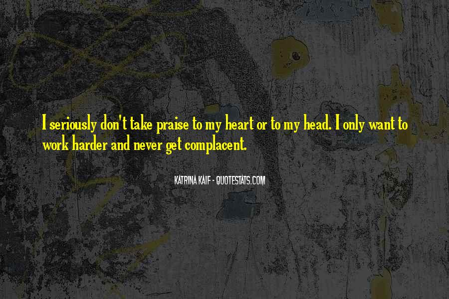 Complacent Quotes #950177