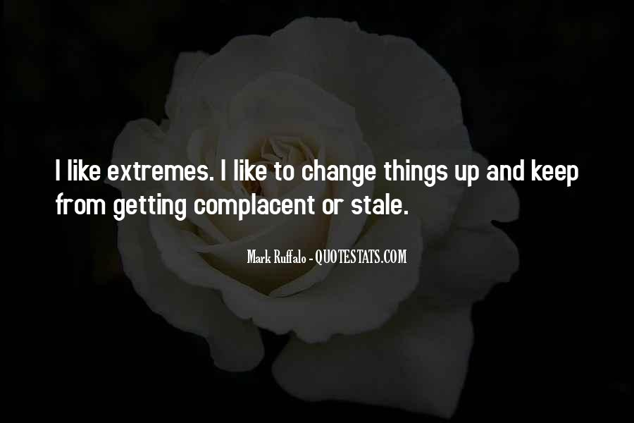 Complacent Quotes #983204