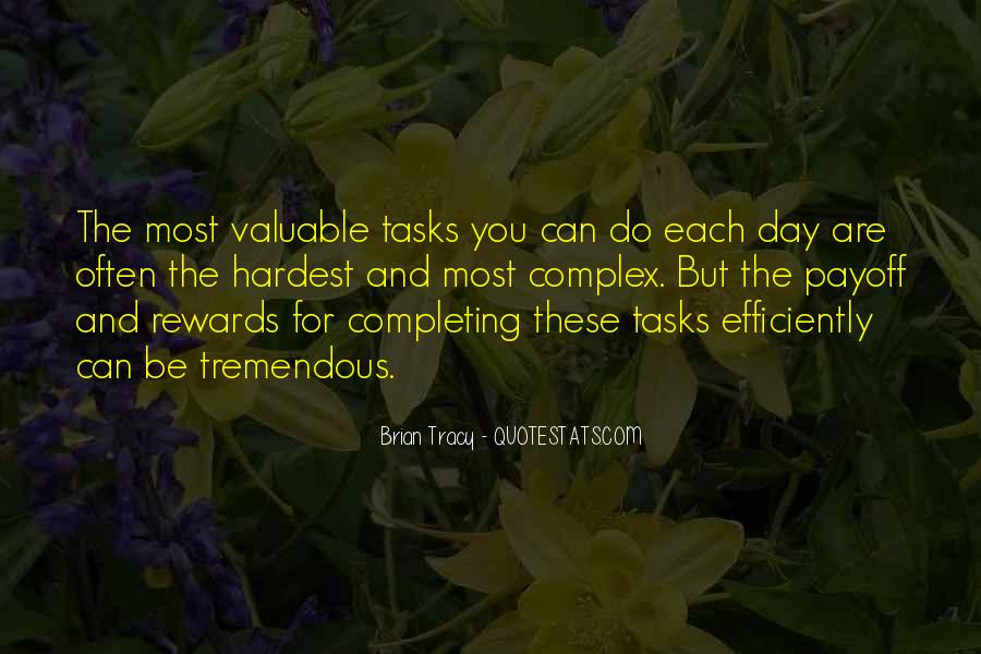 Completing Tasks Quotes #552692
