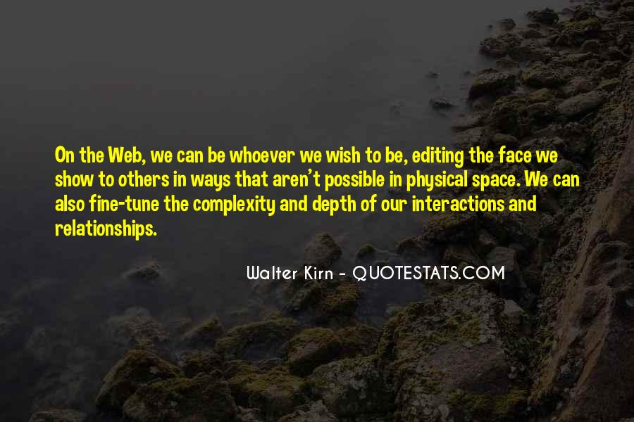 Complexity Of Relationships Quotes #154063