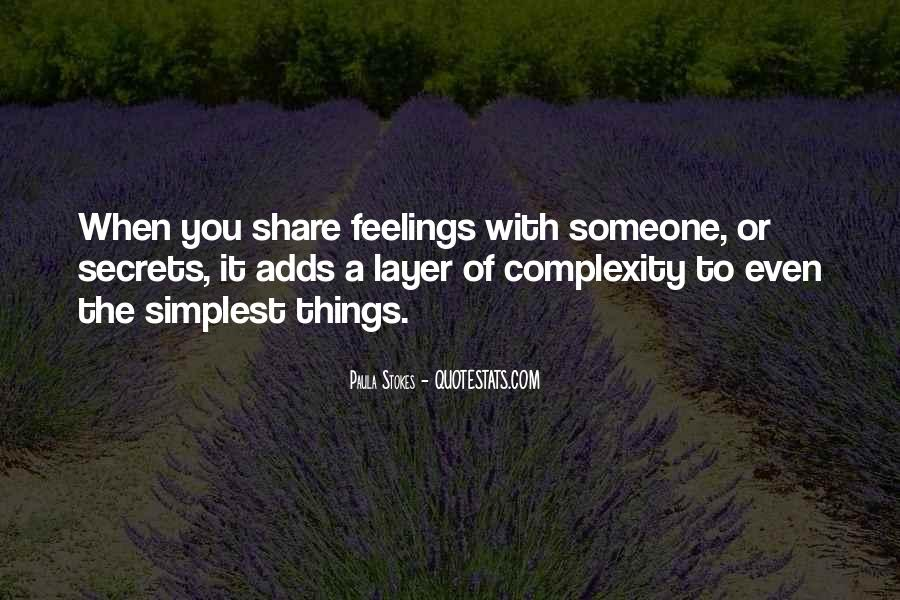Complexity Of Relationships Quotes #363848