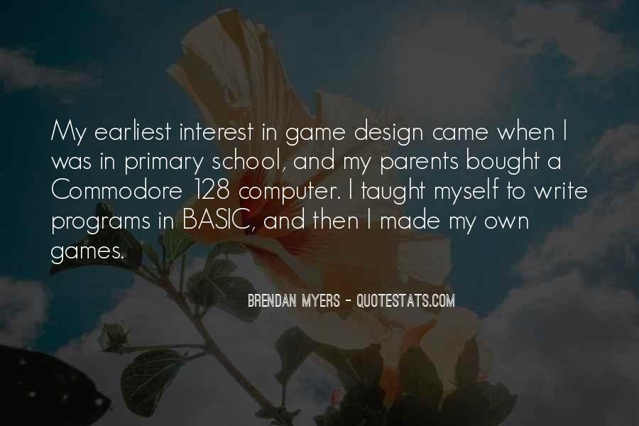 Computer Game Design Quotes #788722