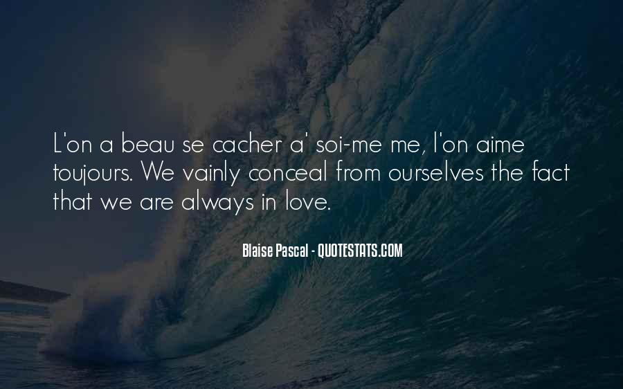 Conceal Love Quotes #433137