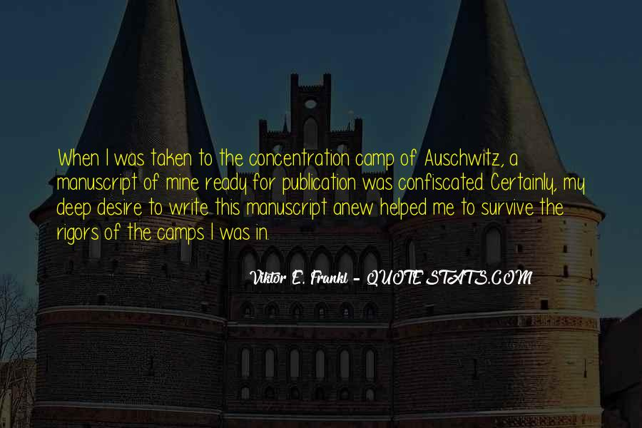 Concentration Camp Quotes #1708403