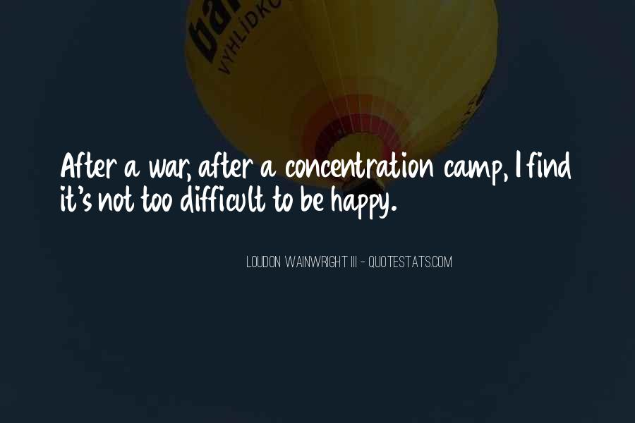 Concentration Camp Quotes #1806440