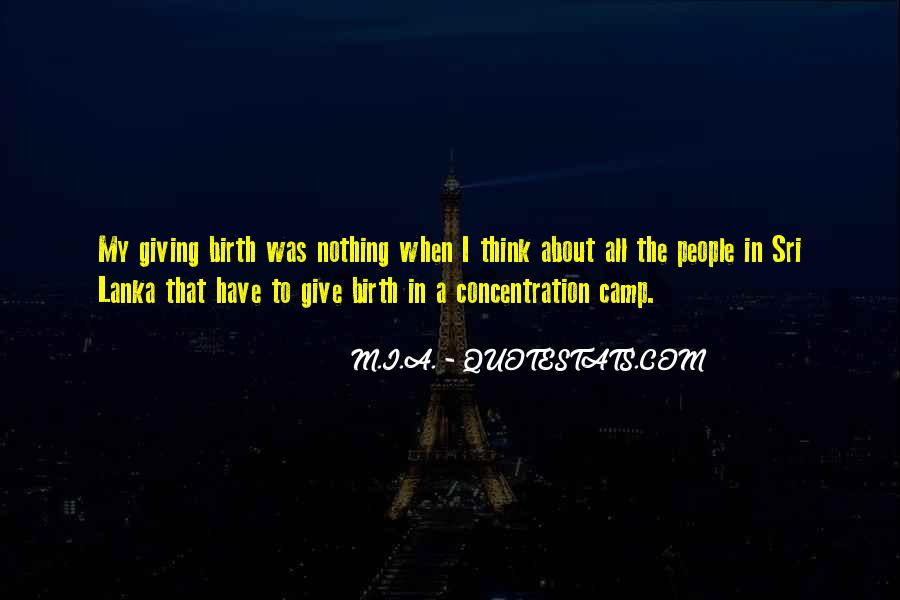 Concentration Camp Quotes #854261