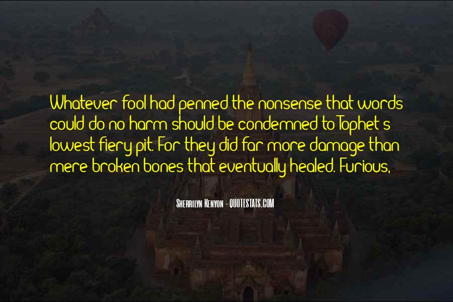 Condemned Quotes #107650
