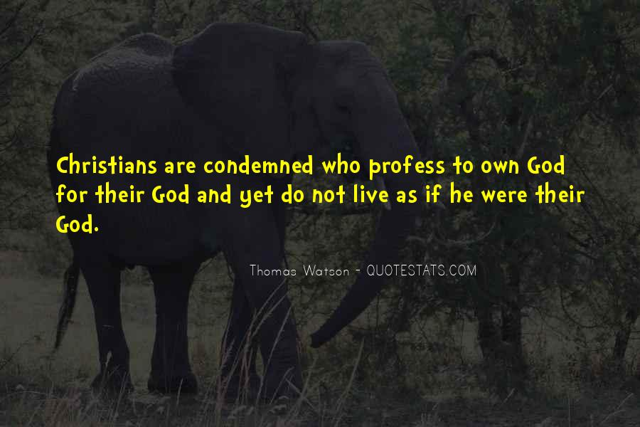 Condemned Quotes #153156