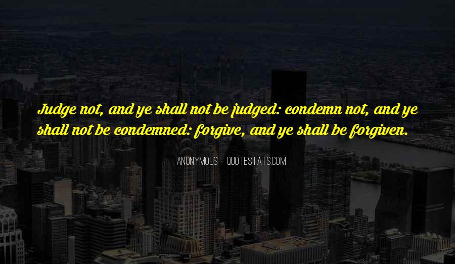 Condemned Quotes #172836