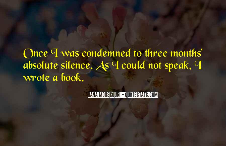 Condemned Quotes #237968