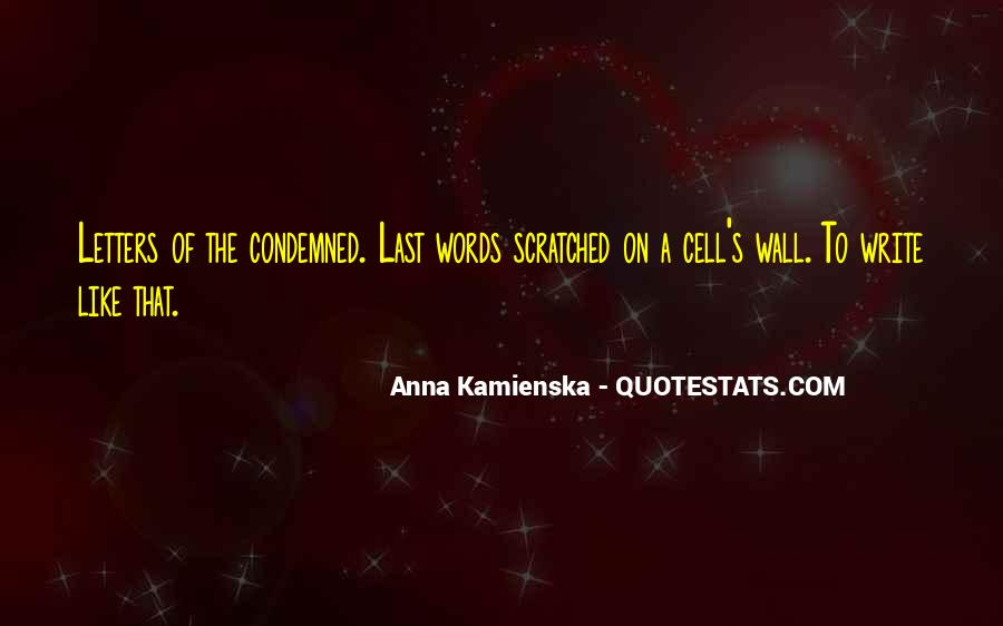 Condemned Quotes #301208