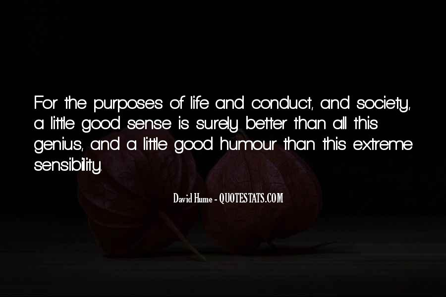 Conduct Of Life Quotes #1203761