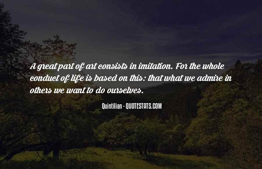 Conduct Of Life Quotes #1239859