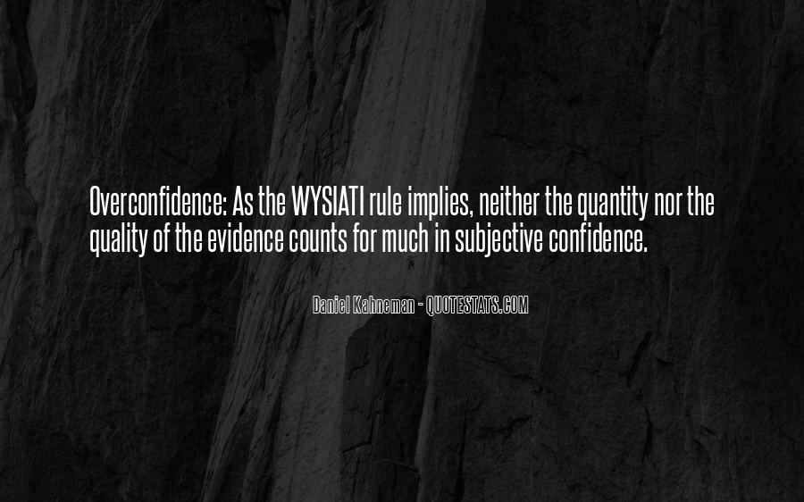 Confidence And Overconfidence Quotes #158923
