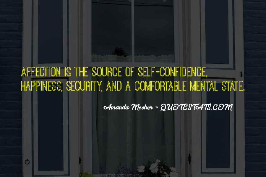 Confidence Sayings And Quotes #119061