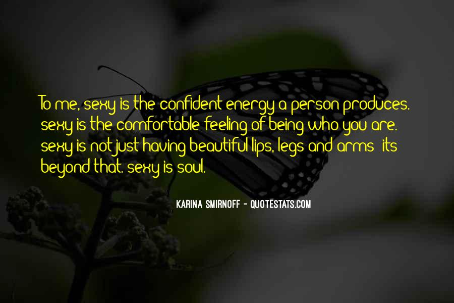 Confident And Beautiful Quotes #1085720