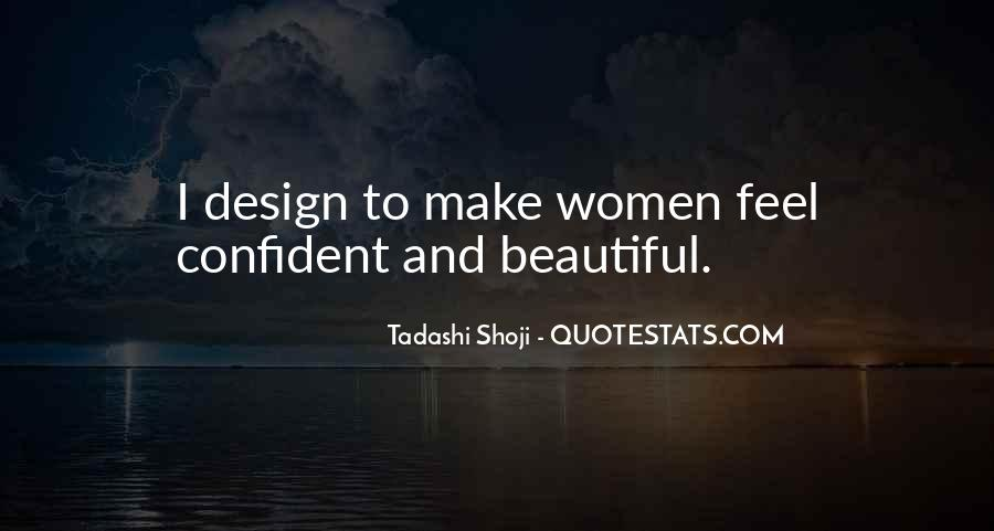 Confident And Beautiful Quotes #1115059
