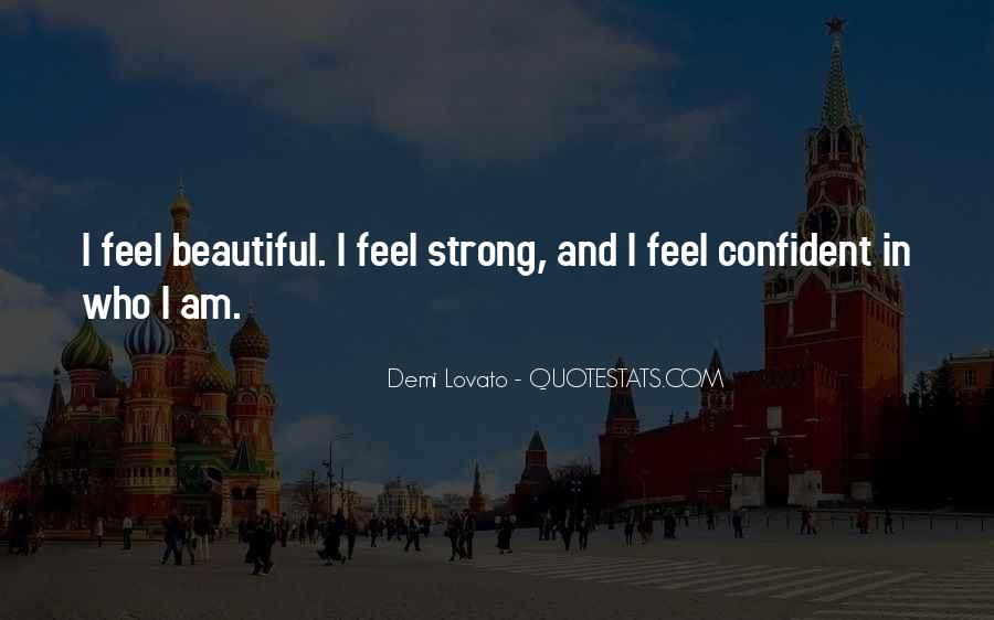 Confident And Beautiful Quotes #1381899