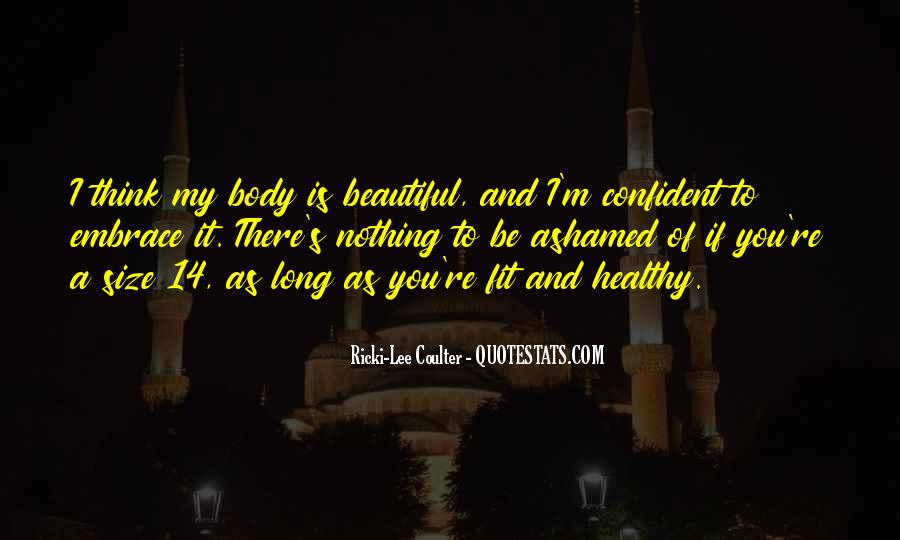Confident And Beautiful Quotes #1660634