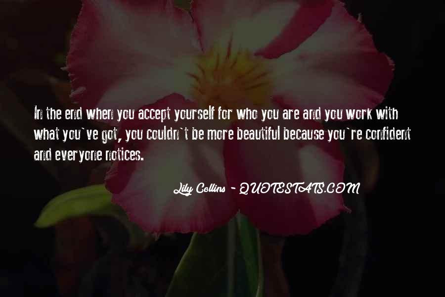 Confident And Beautiful Quotes #347039