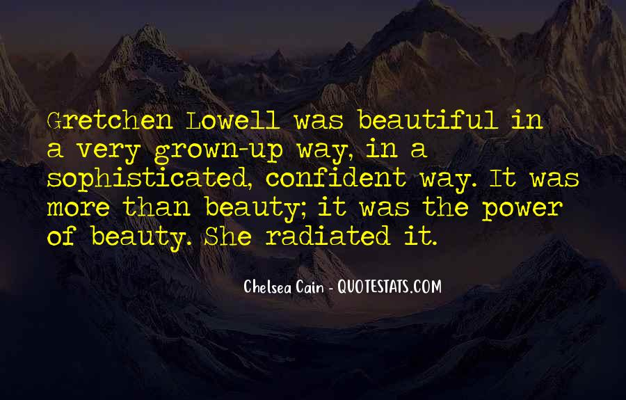 Confident And Beautiful Quotes #815912