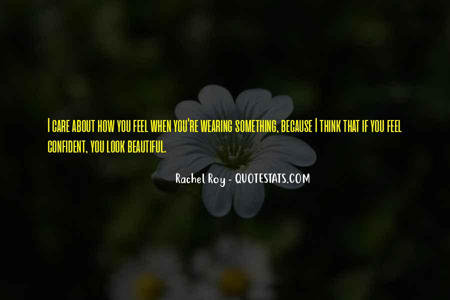 Confident And Beautiful Quotes #897196