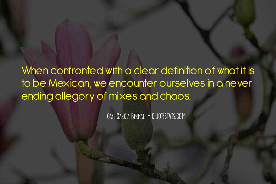Confronted By None Quotes #39068