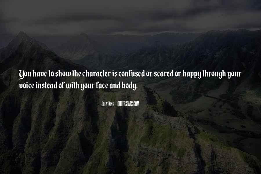 Confused And Scared Quotes #229628