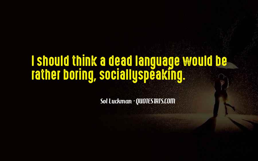 Quotes About Latin Language #1052976