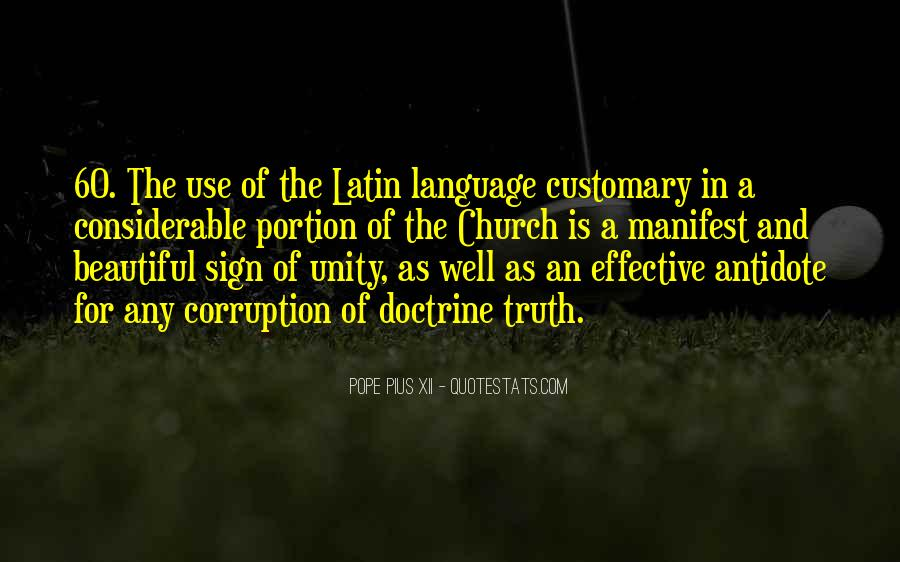Quotes About Latin Language #1301484